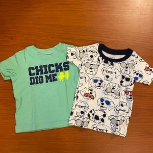 Carters 6 month T-shirt bundle